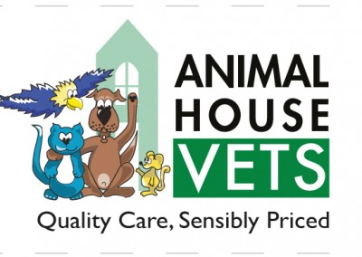 Veterinary practice logo face lift