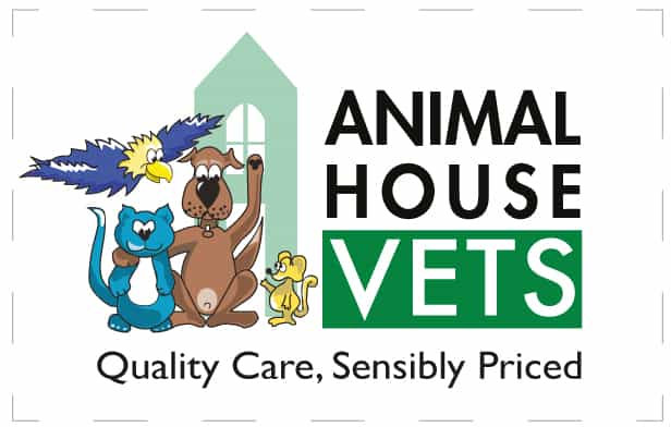 animal house vets logo