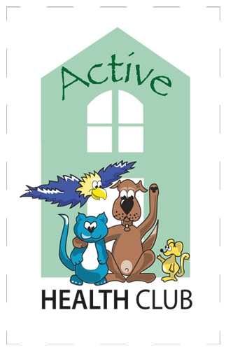 Active health club logo